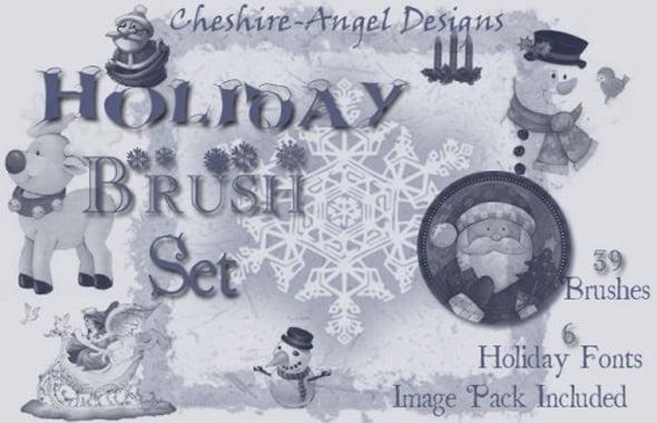 Holiday Brush Set