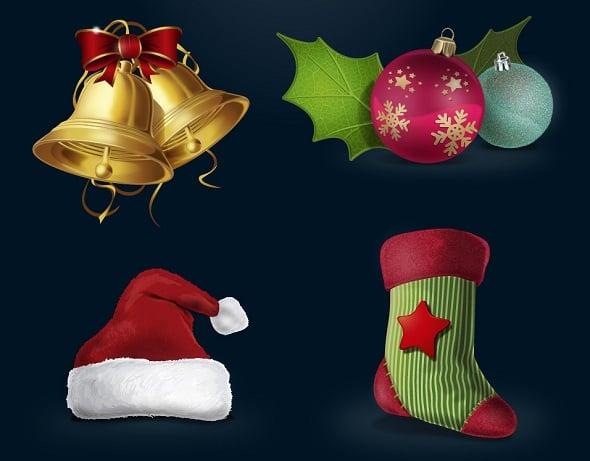 Christmas Vector Icon Set