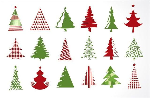 18 Christmas Tree Icons