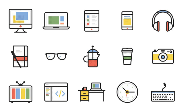 Freebie: Dashel Icon Set