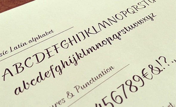 36 Beautiful New Calligraphy Fonts for Designers