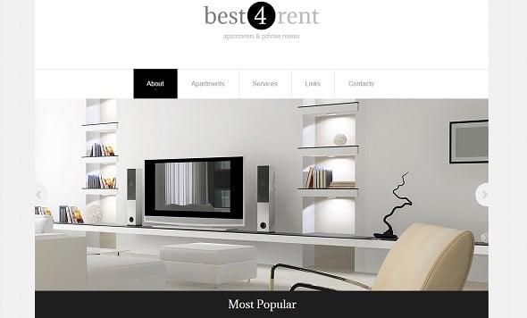 Best Website templates 2014 - Real Estate Agency Website Template