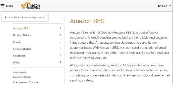 Email Marketing - Amazon SES