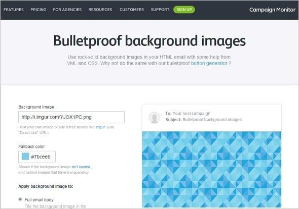 Email Marketing - Bulletproof Images