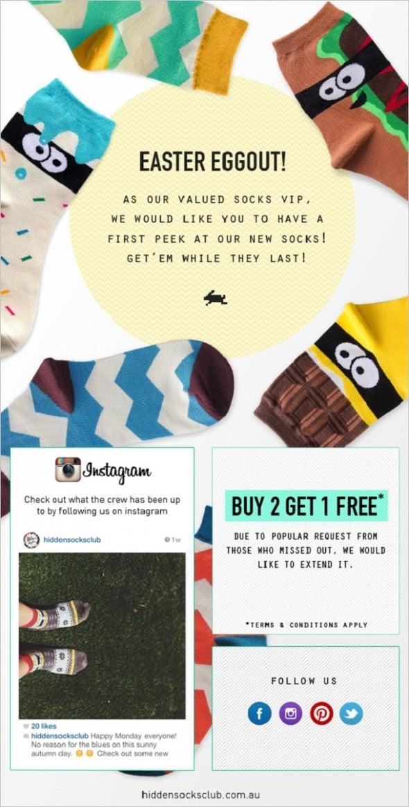 Email Marketing - Eggstravaganza
