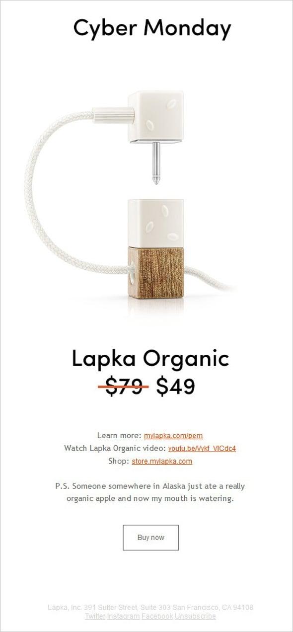 Email Marketing - Lapka