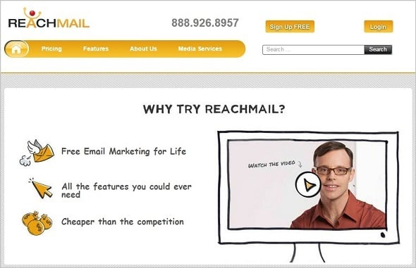 Email Marketing - Reachmail
