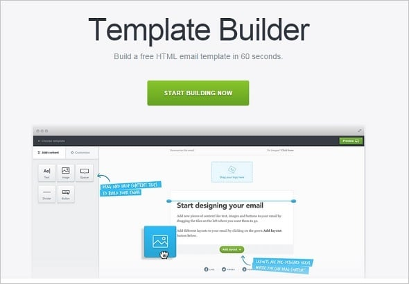 Email Marketing - Template Builder
