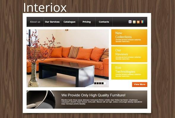 Furniture Company Website Template
