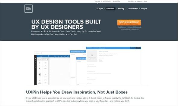 UX Design Tools 2015 UXPin
