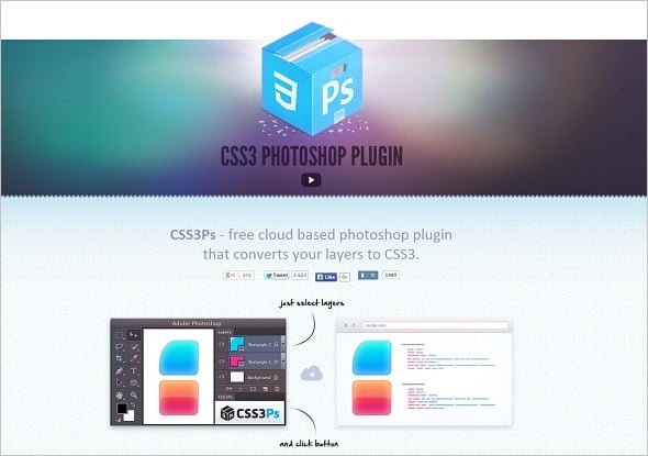 Web Design Tools - CSS Photoshop Plugin