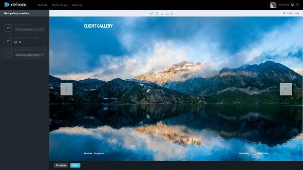Defrozo Free Photo Platform Gallery