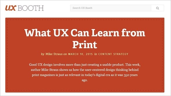 Learn UX Design - UX Booth