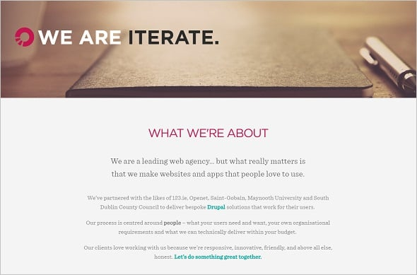 Website Usability - Iterate