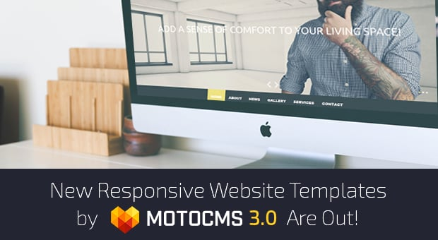 MotoCMS 3.0 Responsive Website Templates - main