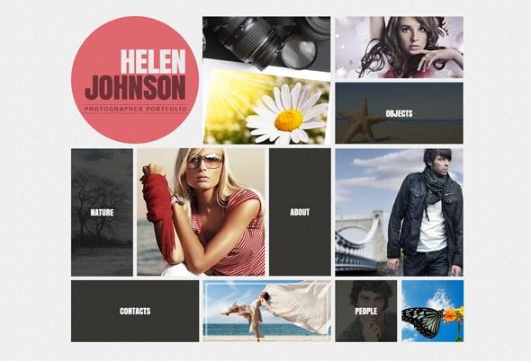 Photo Portfolio Trends 2015 Navigation