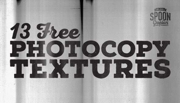 Spoon Graphics Blog - 13 Free High Resolution Grungy Photocopy Textures