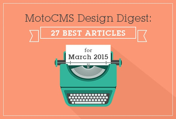 Best Web Design Articles, March - main