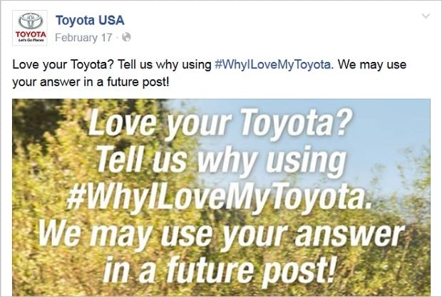 Brand Advocates - Toyota