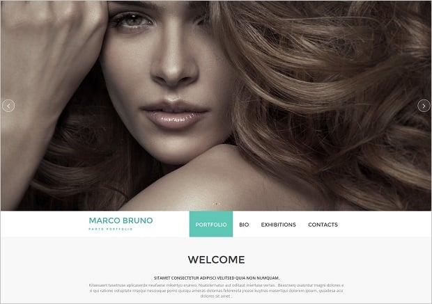 Responsive Website Templates by MotoCMS 3.0 - Photo Portfolio