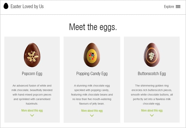 Website Design Mistakes - Easter Loved by Us