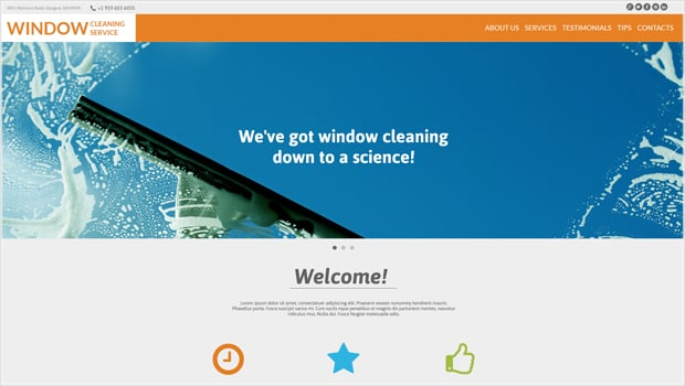 Template for Making a Website for Your Maintenance Business