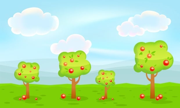 Best Web Design Articles April - How to Create a Vivid Video Game Background in CorelDRAW