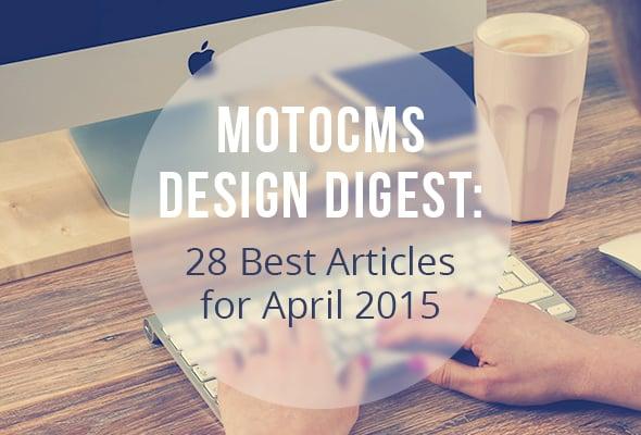 Best Web Design Articles April - image