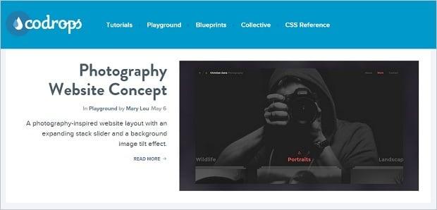 Best Web Design Blogs 2015 - codrops