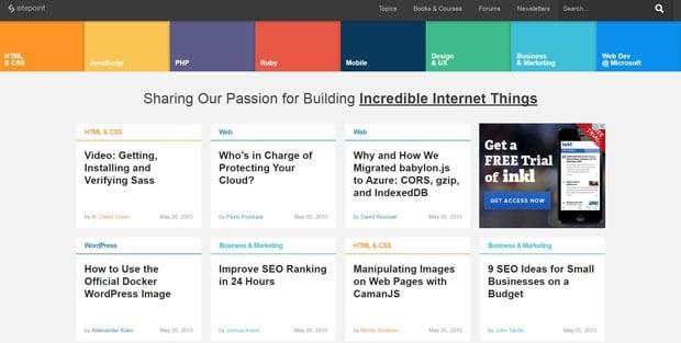 best website design 2015