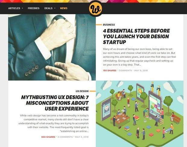 Best Web Design Blogs 2015 - webdesignerdepot