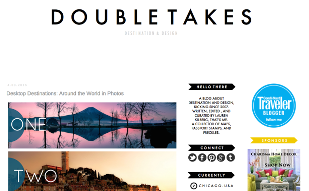 Best Web Design Articles May - 16 Breathtaking Travel Blogs