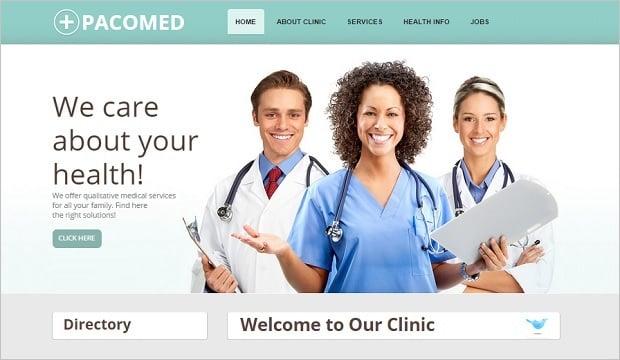 Create a Dental Website - Light Template