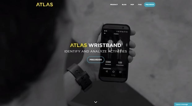 Creating a Startup Website - Atlas