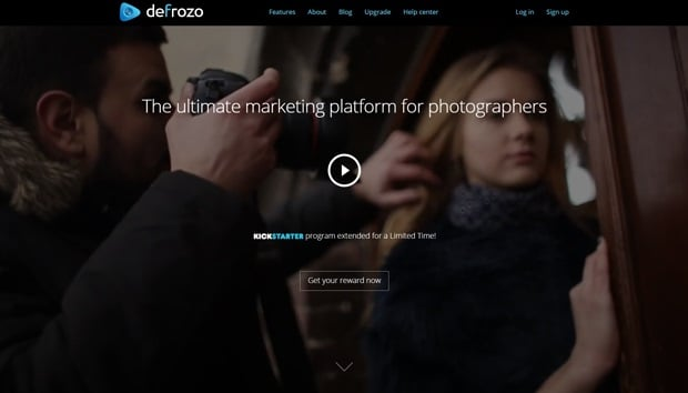 Creating a Startup Website -  Defrozo