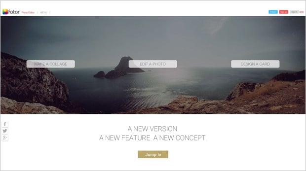 Image Editing Software - Fotor
