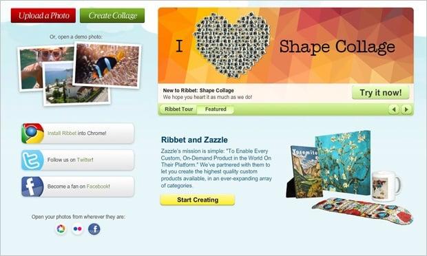 Image Editing Software - Ribbet