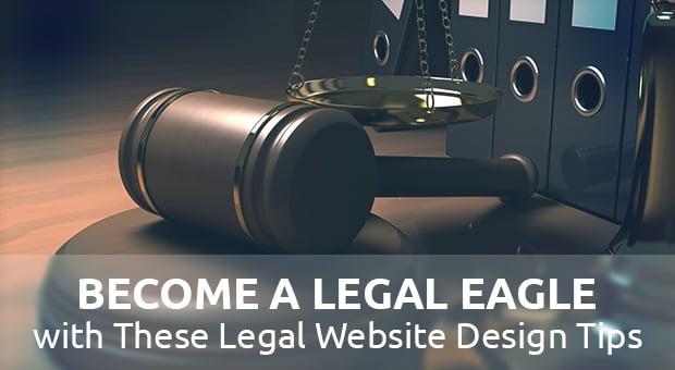 Legal Website design - main