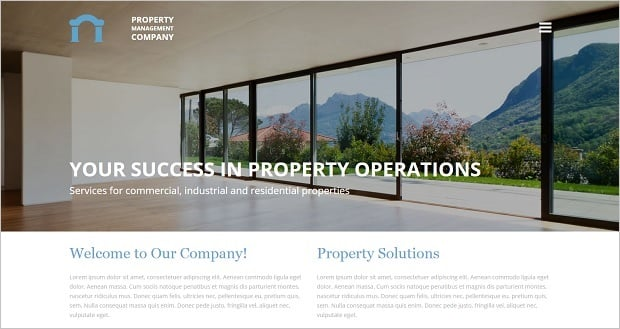 MotoCMS Independence day promo - Real Estate Template