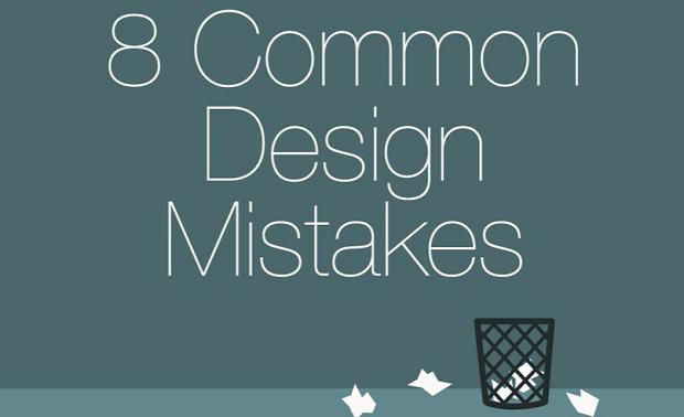 Best web design articles June - 8 mistakes