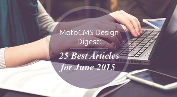 Best web design articles June - digest