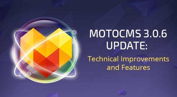MotoCMS 3.0.6 Update - main