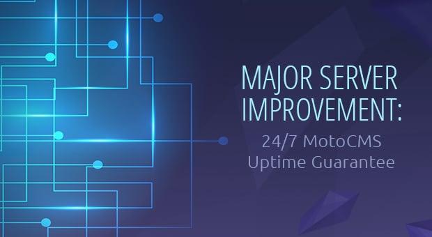 MotoCMS Uptime Improvement - main