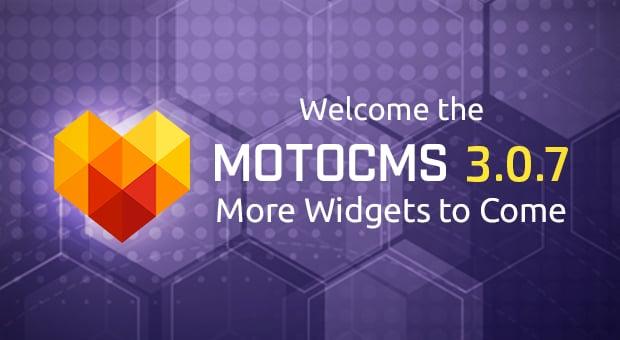 MotoCMS 3.0.7 release - main