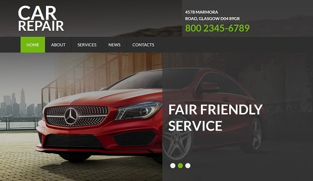 motocms promo 2015 - car repair