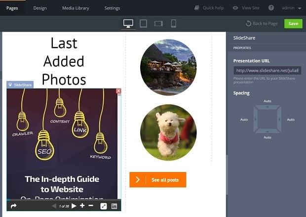 Social Media Widgets - SlideShare