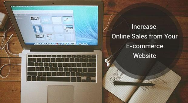 increase online sales - main