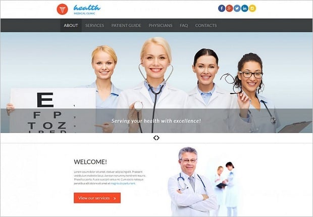 дизайн медицинских сайтов - 53228