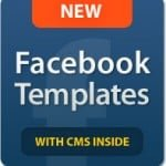 Facebook Flash CMS Templates: Impressive, Functional, Affordable