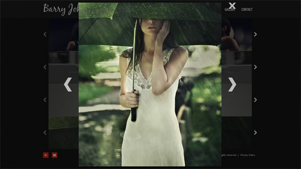 Multistoried Flash Photo Gallery Template